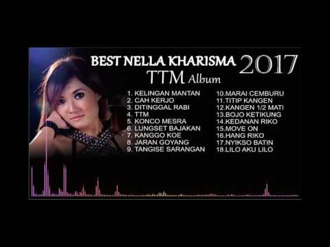 BEST Nella Kharisma 2017 TTM Full Album ( Bass Equalizer )