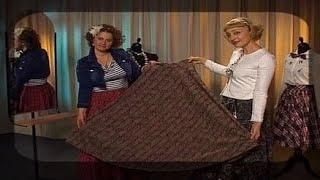 Шьем юбку без выкройки на любую фигуру. Мастер класс(Передача