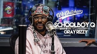 ScHoolboy Q talks with Gray Rizzy about his new album CrasH Talk, Nipsey Hussle, Tiger Woods + more!
