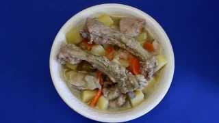Рецепт приготовления жаркого со свиными ребрышками в мультиварке VITEK VT-4216 CM