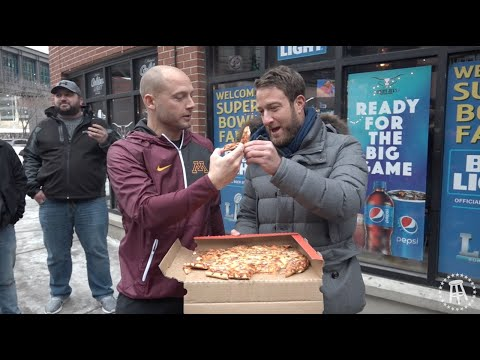 Barstool Pizza Review - Red's Savoy (Minneapolis,MN) With Special Guest P.J. Fleck