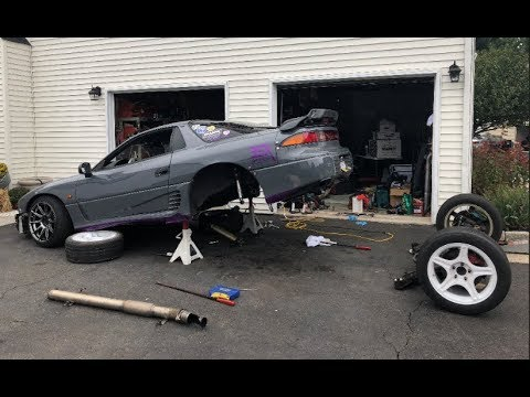 Fastest 3000GT Subframe Removal EVER?! (3000GT Drift Car)