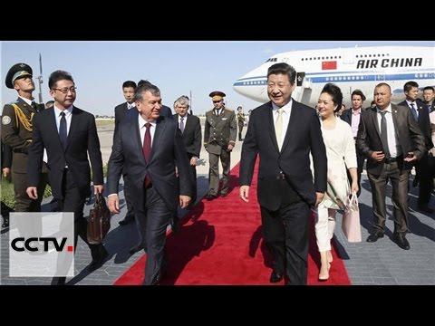 Первую остановку председатель КНР сделал в Бухаре