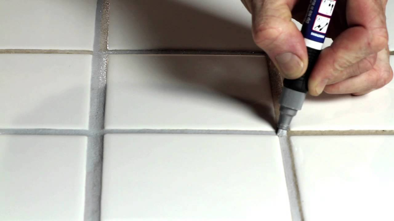 Grout Pen - YouTube