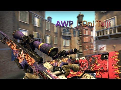 AWP | Oni Taiji - HYDRA CASE (CS:GO Showcase/Gameplay)