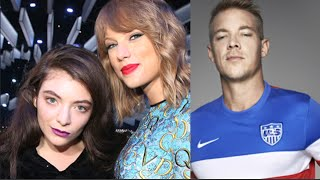Lorde Defends Taylor Swift Over Booty Comments!