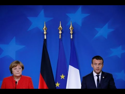 France's Macron, eastern Europeans try to mend fences