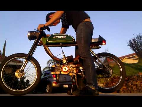 Puch Athena 70cc with HPI