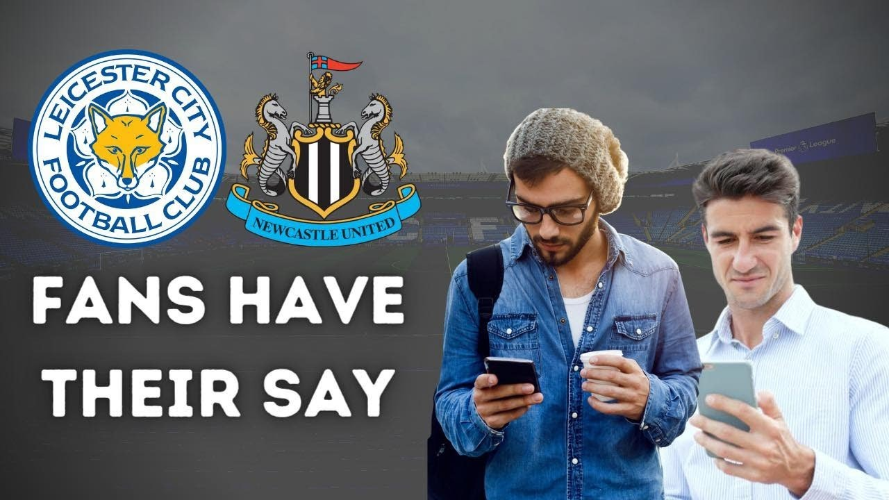 Live Fan Reaction Show   Leicester City - Newcastle United
