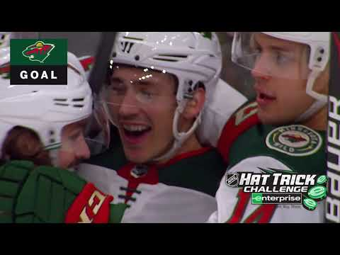 Spurgeon records first NHL hatty in Wild win