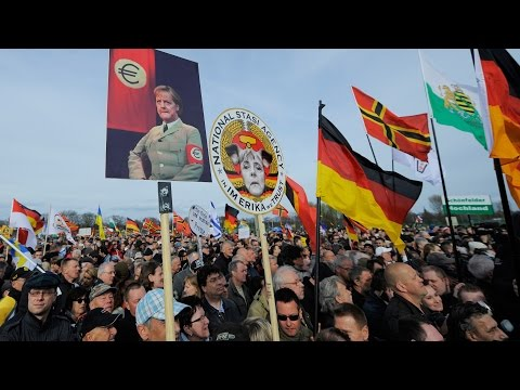 Thousands Gather for Anti-Islamization Rally in Dresden