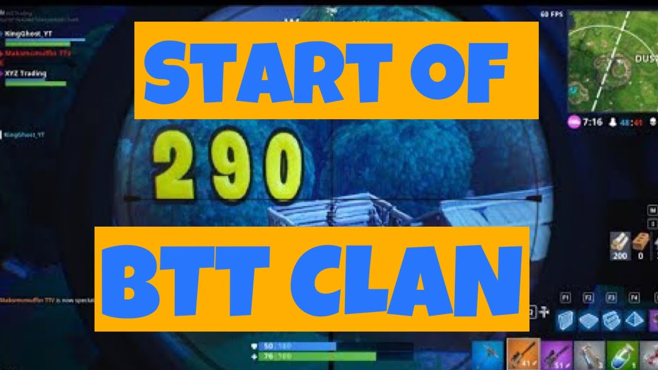 The Start of BTT Clan - ANYONE CAN JOIN! 😱