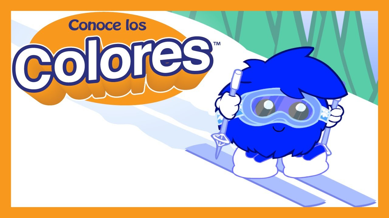 "Conoce los Colores ""Azul"" | Meet the Colors ""Blue"" (Spanish Version)"