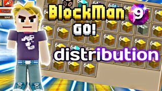 HELP FOR NUBIKS AND DISTRIBUTION OF RARE THINGS IN THE SKY BLOCK Blockman go
