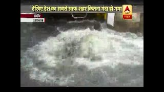Visuals after 12 hours of rain in Indore are scary