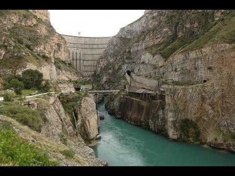 Сулакский каньон и Чиркейская ГЭС (Дагестан, 2018)