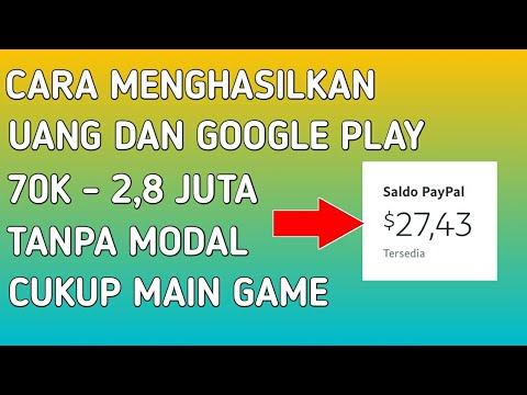 Cara Mendapatkan Uang Dollar Gopay Tanpa Modal Hanya Main Game Apk Legit Penghasil Uang 2019 Youtube