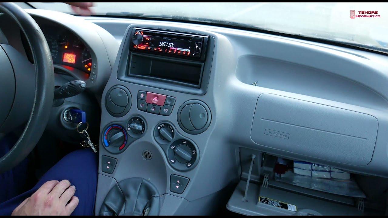 Codice Sblocco Radio Fiat Panda.Sostituzione Autoradio Fiat Panda Anno 2003 2011