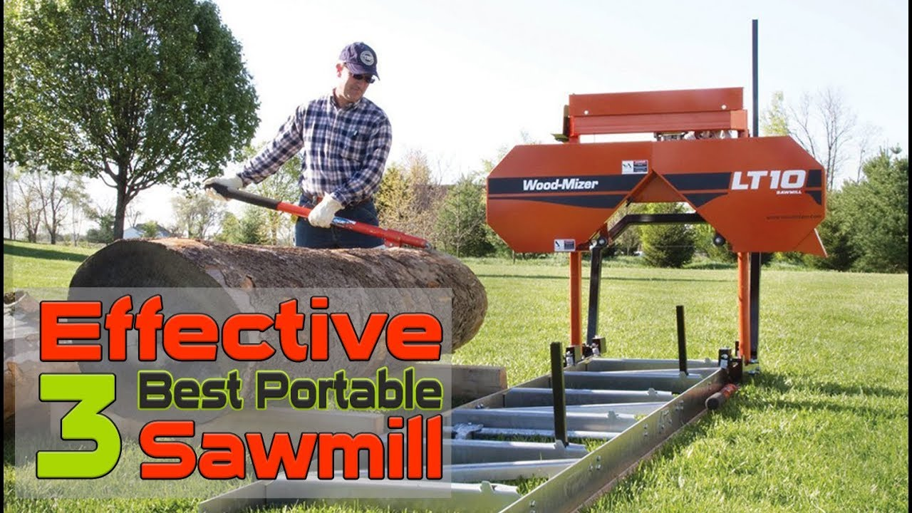 Used Sawmills For Sale >> Effective 3 Best Portable Sawmill For Sale Cheap Portable Sawmill Reviews