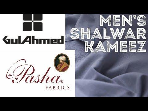 Gul Ahmad Pasha Fabrics Men S Shalwar Kameez For Eid Summer Collection 2019 Youtube