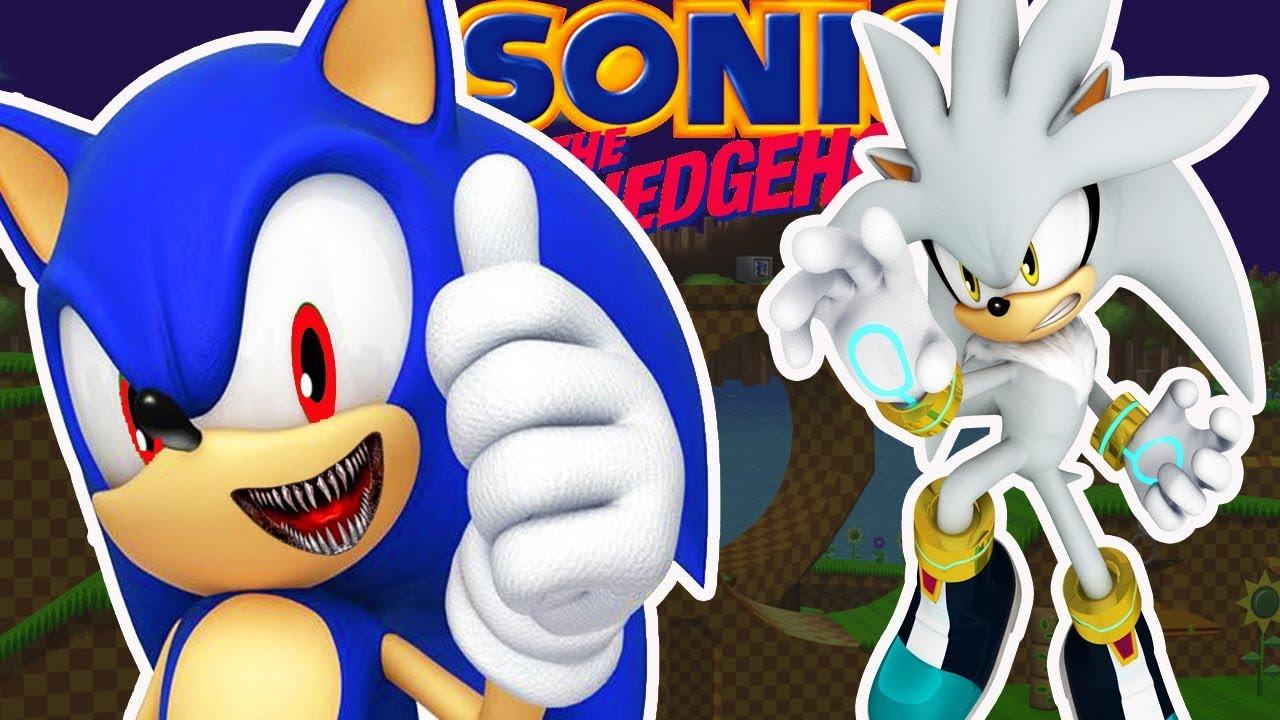Evil Sonic vs Silver - YouTube