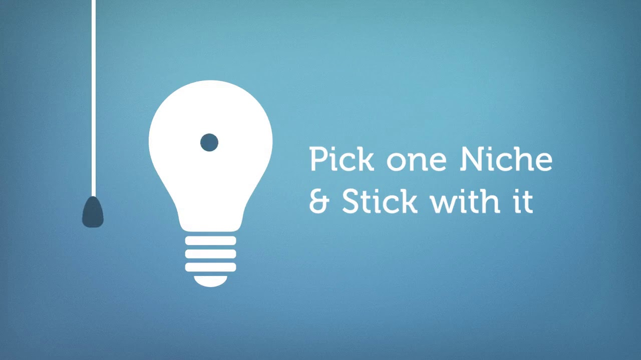 Image result for stick with one niche