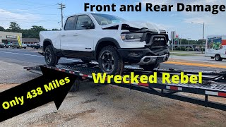 Rebuilding a Wrecked 2019 Dodge Rebel from Copart