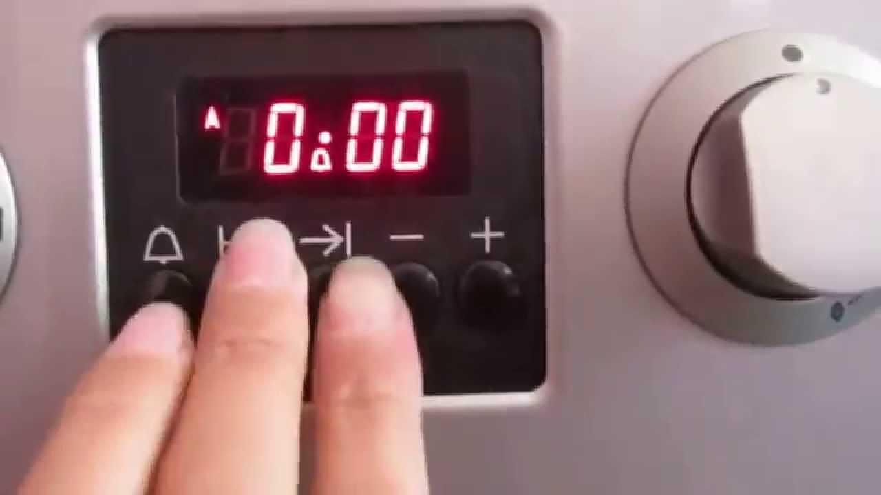 3 часть полный видеообзор плиты Gorenje Cc 600 настройка программатора