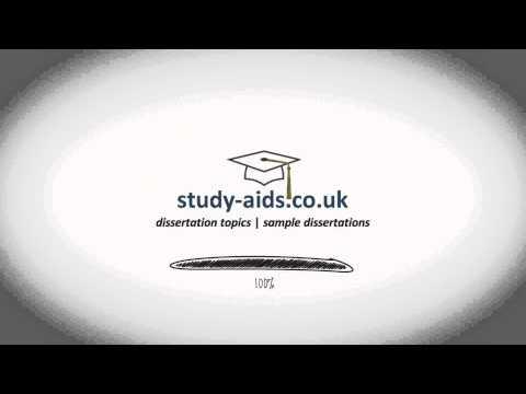 Sample Dissertation Topics