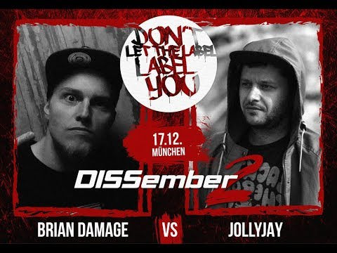 JollyJay vs Brian Damage // DLTLLY Bilingual Battle (DISSember2 // München) // 2017