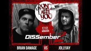DLTLLY // Bilingual Battle // JollyJay VS. Brian Damage (DISSember2)