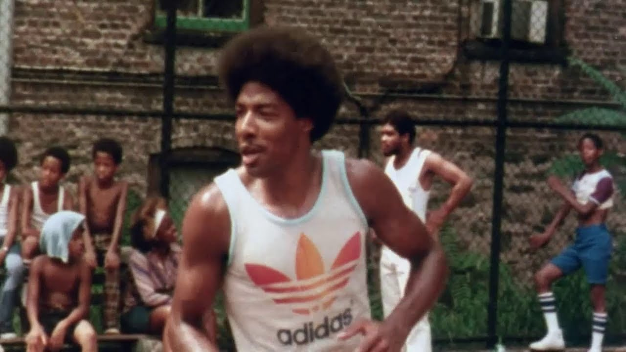 Dr. J At Harlem's Rucker Park
