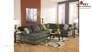 Ashley Jessa Place 3 Piece Sectional With Chaise (APK-39803-L3) | KEY Home