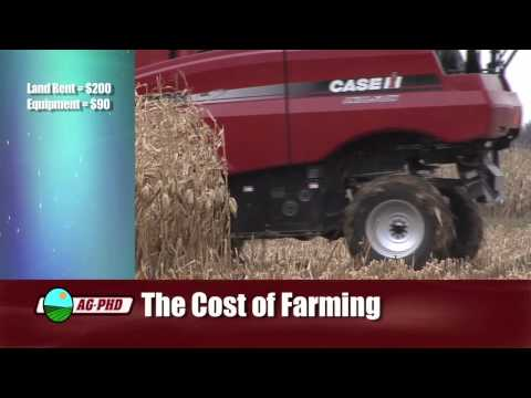 Farm Basics-The Cost of Farming #622 (From Ag PhD #622 3/7/10)