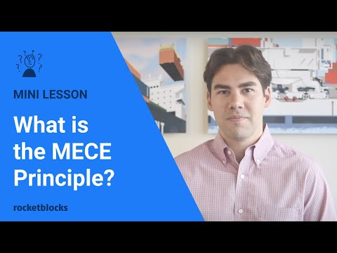 The MECE Principle for structuring case problems