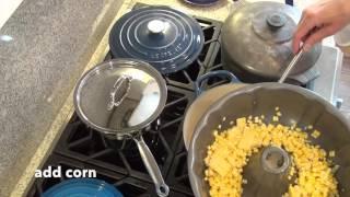 Shrimp and Corn Bisque - Kean Songy