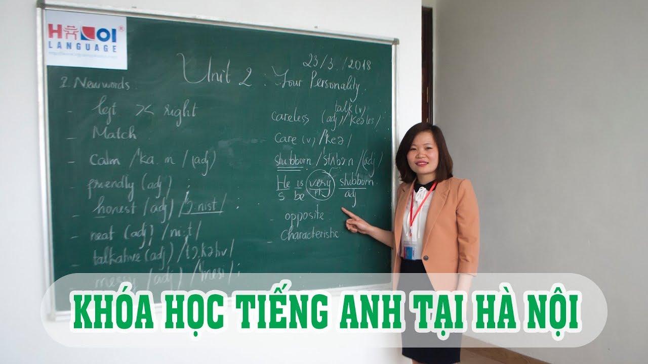 Khóa học tiếng Anh tại Hà Nội