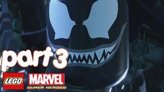 LEGO Marvel Super Heroes Walkthrough gameplay Part 3 - Venom (Exploratory Laboratory)