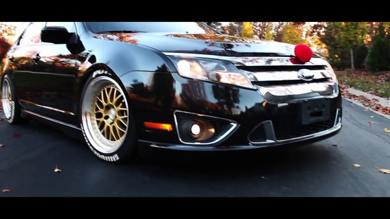 Logan S Stanced Ford Fusion Youtube