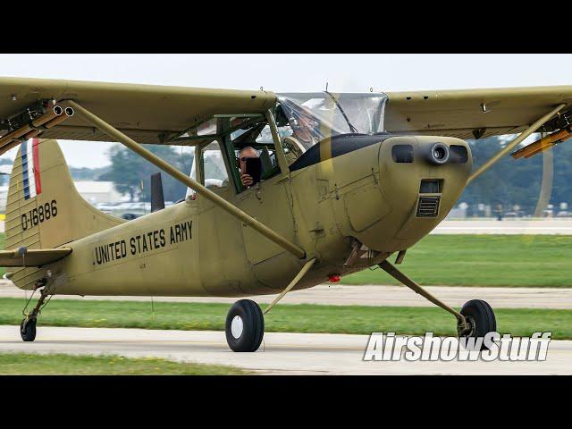Military/Warbird Arrivals (Thursday Part 3/5) - EAA AirVenture Oshkosh 2021