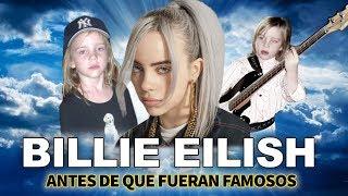 Billie Eilish | Antes De Que Fueran Famosos | Biografía Epica | bury a friend