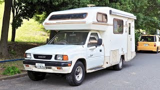 1991 Isuzu Rodeo 4WD Diesel Camper (USA Import) Japan Auction Purchase Review