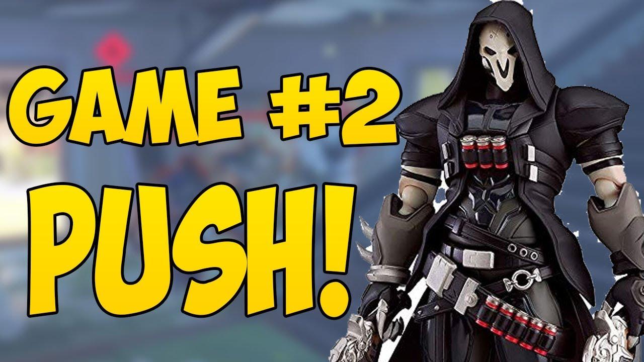 Jogo de Colocação de Overwatch # 2 Daper Reaper - PUSH! + vídeo