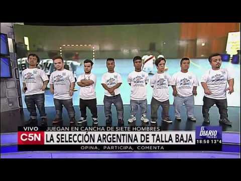 C5N - Fútbol: nos visitó la selección argentina de talla baja