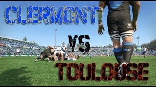 Clermont Vs Toulouse | Jonah Lomu Rugby Challenge 2 (2013/2014)