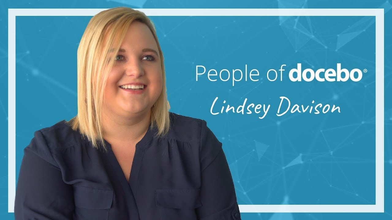 People of Docebo | Lindsey Davison