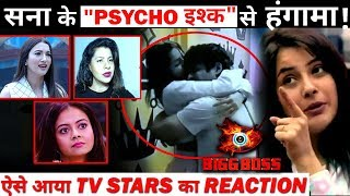 That's how TV STARS REACTED after seeing Shehnaaz obsession toward Siddharth