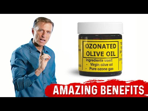 Fascinating Benefits of Ozonated Olive Oil