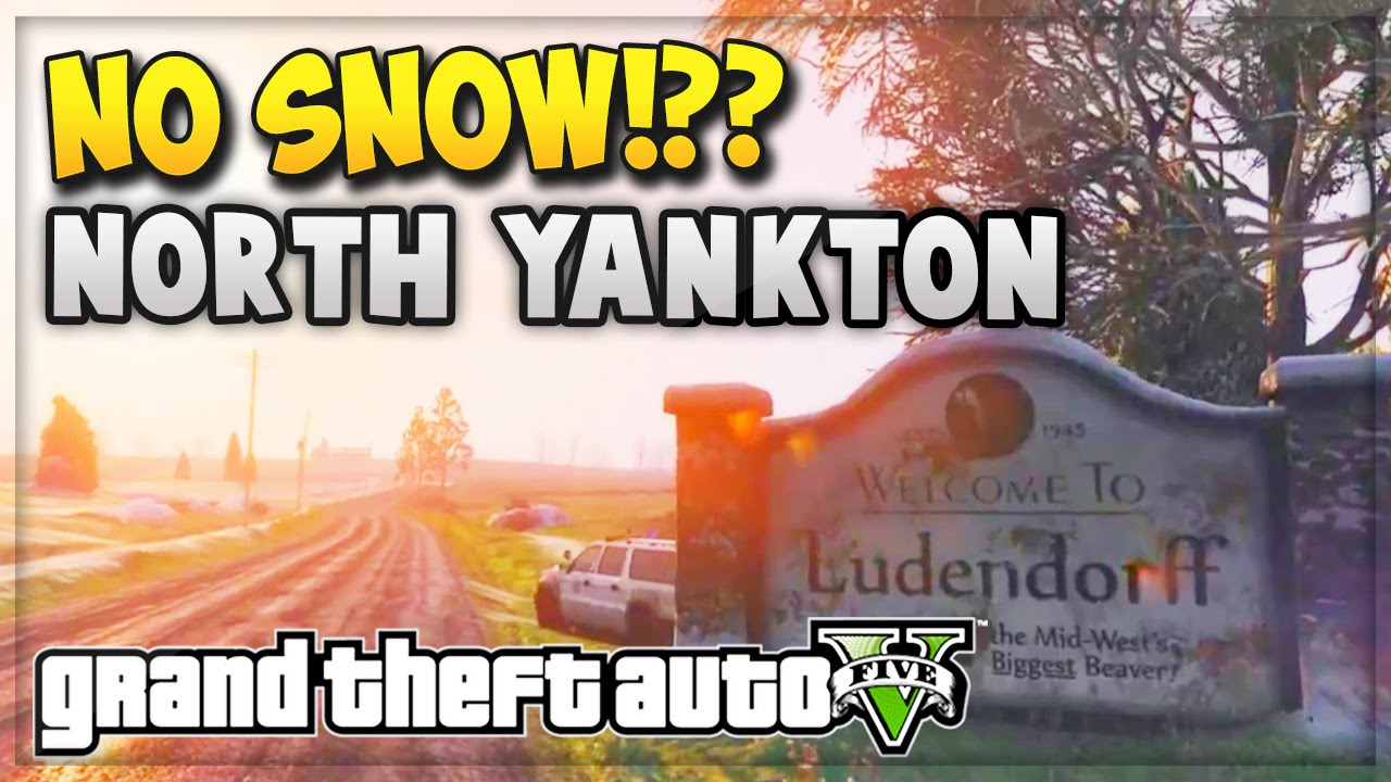 GTA 5 NORTH YANKTON WITHOUT SNOW GAMEPLAY Map Expansion DLC Idea