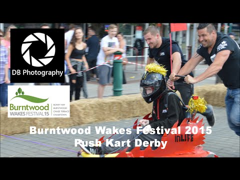 Push Kart Derby 2015 Burntwood Wakes Festival   DB Photography